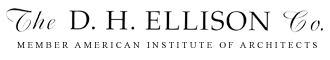 The D.H. Ellison Co. – David Ellison, Architect. Cleveland, Ohio. Residential Architect, Commercial Architect.