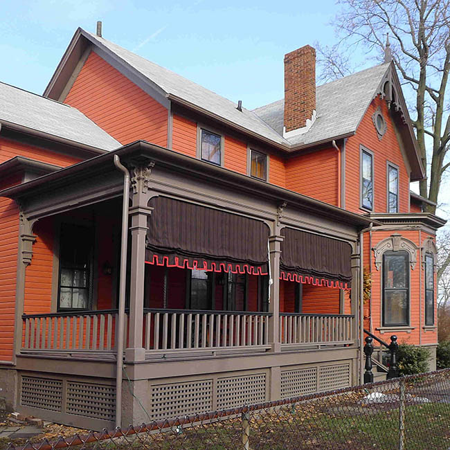 VICTORIAN-ERA HOUSE IN TREMONT HISTORIC DISTRICT - CLEVELAND